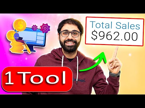How To Make Money Online With 1 Tool & 0$ Investment [Full Guide 2021]