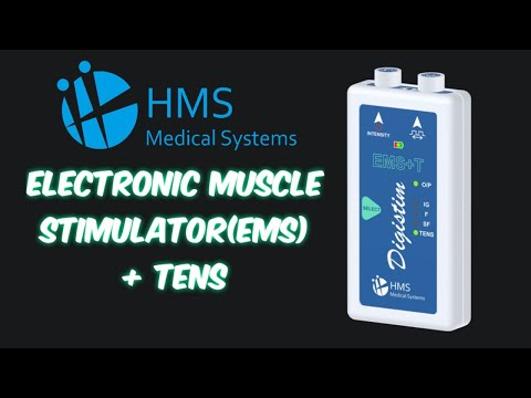 Compact Muscle Stimulator with TENS