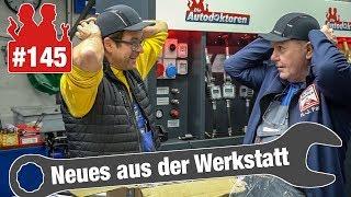 Notfall-Golf mit gebrochener Achsaufnahme eingeschleppt!   Audi-A4-Motor springt beim Gasgeben hoch
