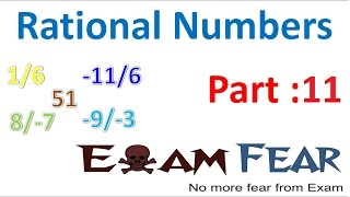 Maths Rational Numbers Part 11 (Distributive Property Of Rational Number) CBSE Class 8