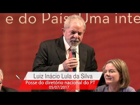 Lula   Posse do Diretório Nacional do PT