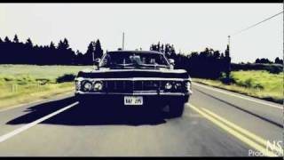 Sam, Dean, Impala - SUPERNATURAL