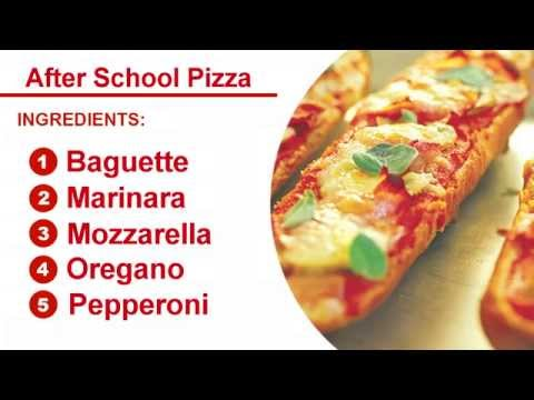 How to Make Easy After School Pizza