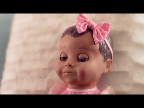 Luvabella Interactive Baby Doll with Light Brown Hair