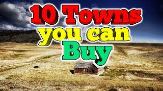 Want to buy a town?