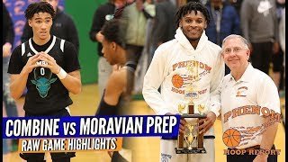🔥 THE Hoop State SHOWDOWN ... Combine Academy vs. Moravian Prep Full Game RAW Highlights