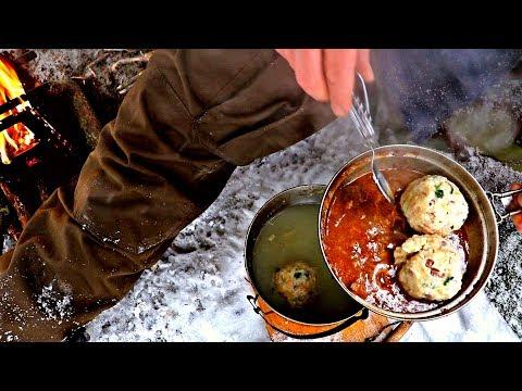 Canederli Bushcraft Cucina Outdoor Knödel - PeschoAnvi