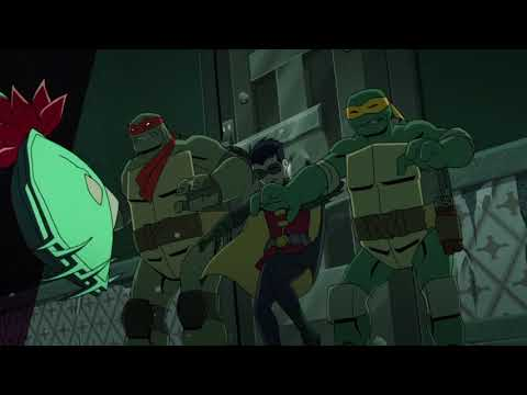 Trouble at Arkham Asylum [Part 2] | Batman vs Teenage Mutant Ninja Turtles
