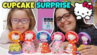 CUPCAKE SURPRISE Di HELLO KITTY: Apriamole Tutte Con Matilde