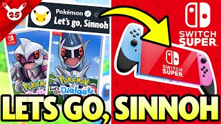 LET'S GO, SINNOH! NEW Pokemon Tweets, Let's Go Rumors, Switch Pro and More! by aDrive