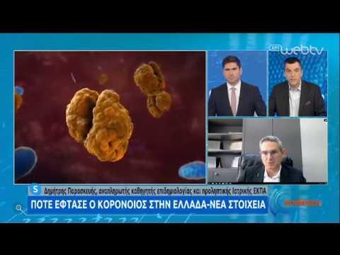 Έρευνα : Πώς επηρεάζει ο ήλιος και η βροχή τον Κορονοϊό   11/05/2020   ΕΡΤ