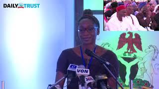 June 12: Abiola''s daughter tender apologies to Buhari - VIDEO