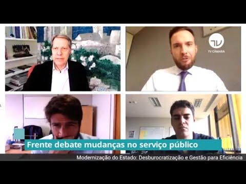 Frente debate mudanças no serviço público - 30/06/20