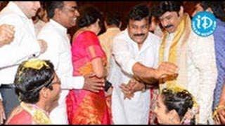 Balakrishna Daughter Tejaswini Wedding - FULL Video