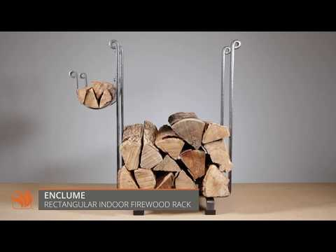 Enclume Rectangular Indoor Firewood Rack