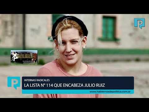 Internas radicales - La lista que encabeza Julio Ruiz