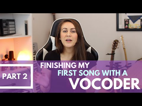 Finishing My First Song Using The Mini Nova Vocoder | Part 2