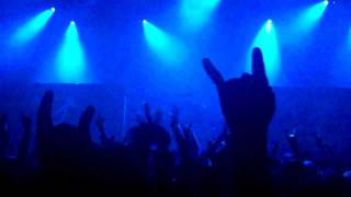 """Anthrax """" Earth on Hell """" opening song Best Buy Theater NYC 02/08/12"""