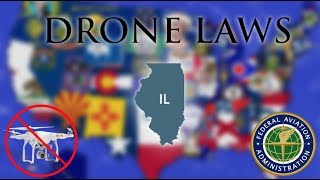 Where Can I Fly in Illinois? - Every Drone Law 2019 - Chicago, Peoria, Rockford (Episode 13)