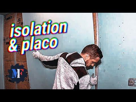 Rail et Montant Placo, Isolation Placo, Contre Cloison Placo, BA13 Hydrofuge, Platine Douche
