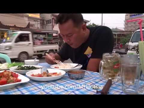 กินยำหมูกรอบพม่า Mandalay shan chinese food
