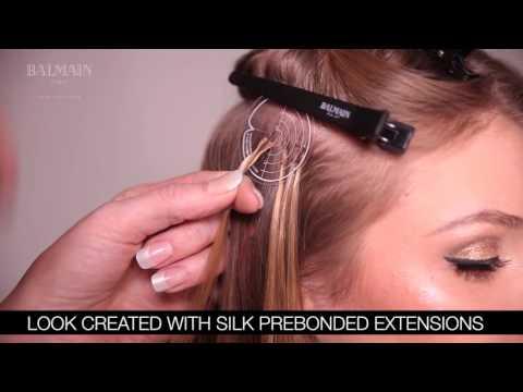 Extensions Balmain Hair ColorFlash 40 cm 12 pièces Blue Ray