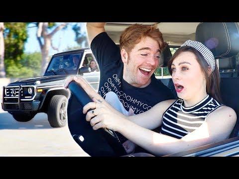 BLIND GIRL DRIVES MY CAR *Scary*