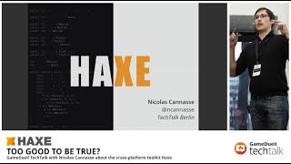 GameDuell TechTalk with Nicolas Cannasse about Haxe