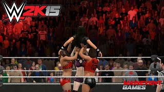 WWE 2K15 : Total Diva Powerbomb