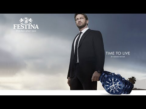 FESTINA-Time to Live by Gerard Butler