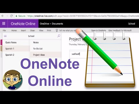 Beginner's Guide to Microsoft OneNote Online