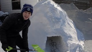 Last to Leave the Igloo Wins | That's Amazing