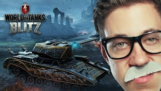 Dracula & Hellsing Panzer?! | World of Tanks BLITZ