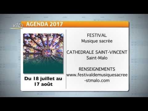 Agenda du 7 juillet 2017