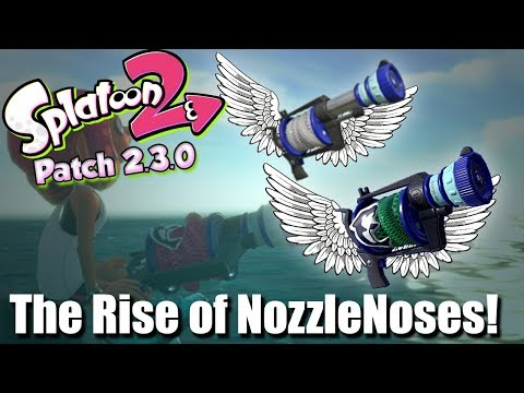 splatoon 2 the rise of the nozzlenoses patch notes 2 3 0