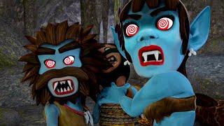 Oko ve Lele - Premiere🦇 - Mağara - Tüm yeni bölümler ⭐ Bebekler için çizgi filmler