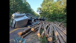 Rock & Roll-Over Log Truck