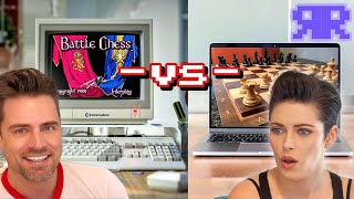 Can An 80s Computer Beat A New One At Chess? Old 🆚 New