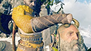 God of War 4 - Mimir Roasts Thor's Sons & Asks Kratos To Cut Off His Head