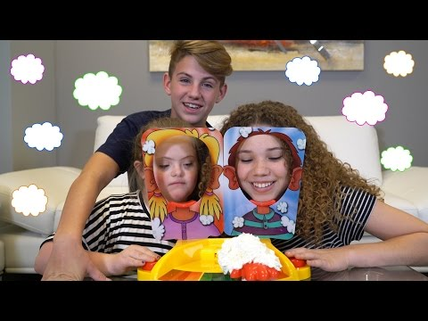 Pie Face Showdown!! (Sarah Grace, MattyB, Madison Haschak)