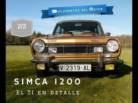 Simca 1200 (2/2)- El TI en detalle