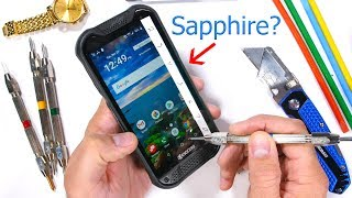 Kyocera DuraForce Pro 2 - A Rugged Sapphire Covered Smartphone? - Durability Test!
