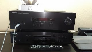 Yamaha RS202 Stereo receiver unboxing