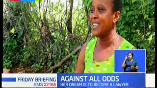 Family celebrates 34 years old mother scores a C+ in KCSE in Mwingi
