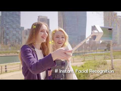 LUMI: Intuitive Selfie Grip With Auto-Face Track-GadgetAny