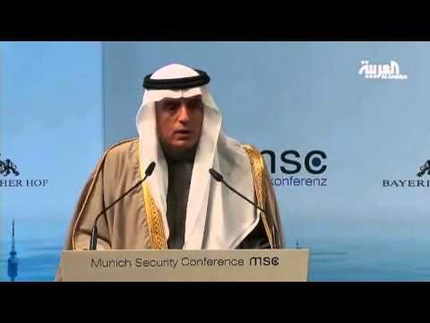 沙特外交部长对一个记者的强烈回应