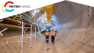 Tunnelling commences on the Metro Tunnel