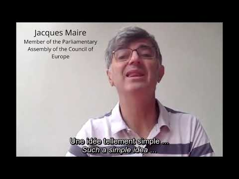 Chair of ALDE Group in the Council of Europe Parliamentary Assembly Jacques Maire - Europe Day 2020