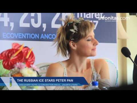 Press Conference The Russian Ice Stars Peter Pan