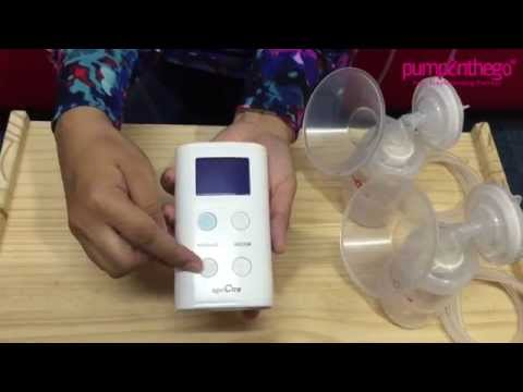 Spectra S9 S9+ Plus Double Electric Breast Pump Mp3